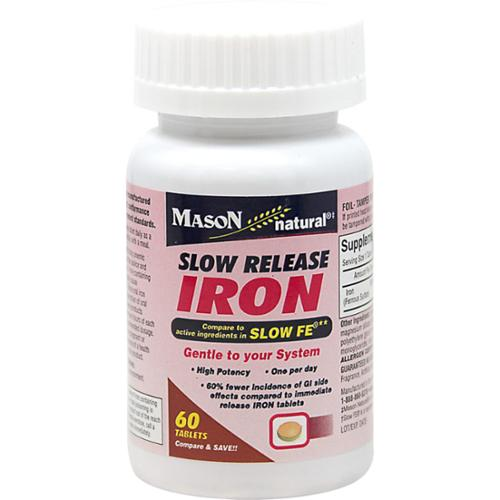 Slow fe iron pills
