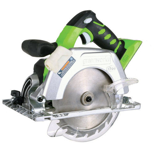 Greenworks 32042A G-24 24V Cordless Lithium-Ion 6-1 2 in. Circular Saw (Bare Tool) by Sunrise Global Marketing, LLC