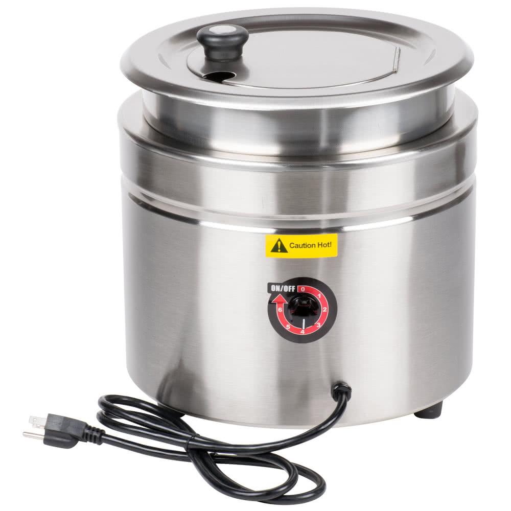 TableTop king S30 11 Qt. Soup Kettle Warmer - 120V, 400W