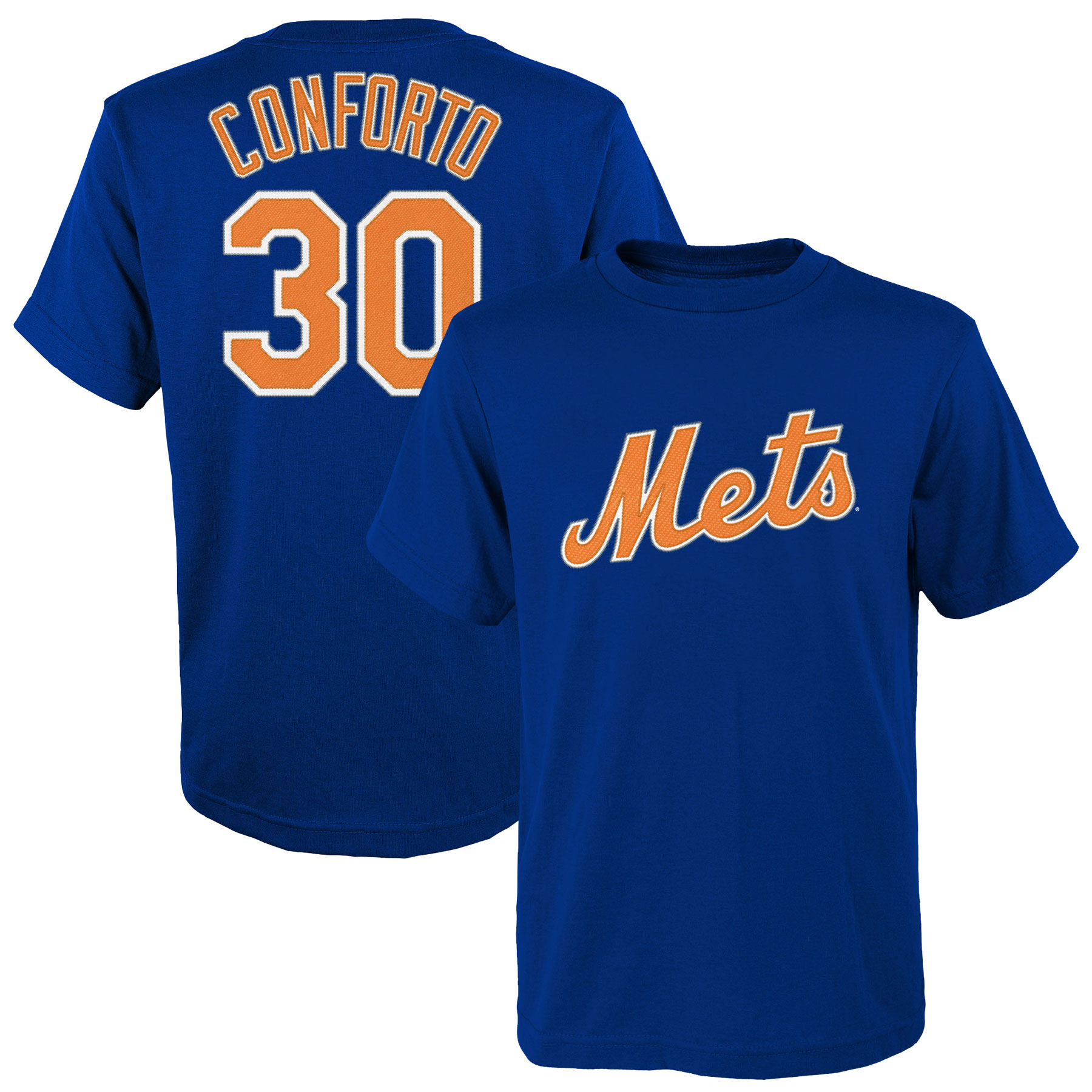 Michael Conforto New York Mets Majestic Youth