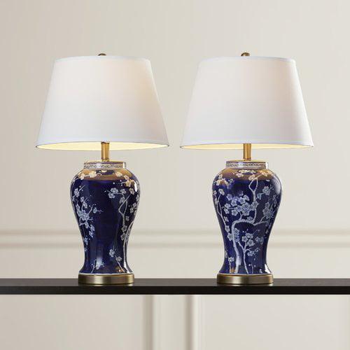 Alcott Hill Spring Blossom 29'' Table Lamp (Set of 2)