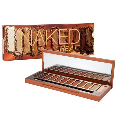 Naked Heat Eyeshadow Palette by for Women - 0.6 oz Eye (Urban Decay Electric Palette Not Safe For Eyes)