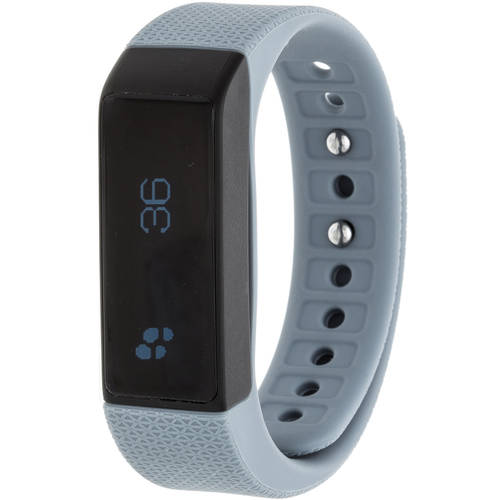 RBX Printed Activity Tracker with Notification Previews and Wrist Sense Technology, Multiple Colors Available