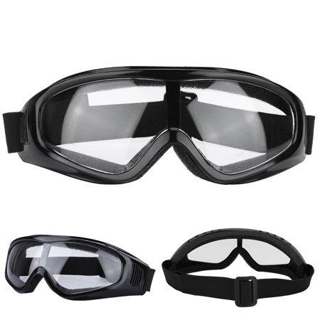 Ejoyous Work Safety Glasses, Work Goggles,Safety Glasses Eye Protection Against Spatter Anti-sand Working Protective Goggles (Black Anti Fog Safety Glasses)