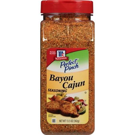 Product of McCormick Perfect Pinch Bayou Cajun Seasoning, 13.5 oz. [Biz (Best Cajun Seasoning Brands)