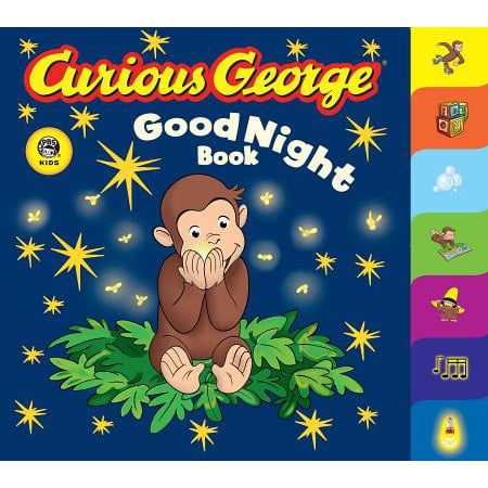 Curious George Good Night Book (Board Book) - Curious George Halloween Story