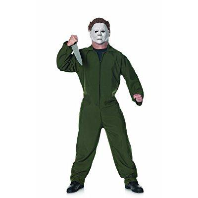 trick or treat studios halloween ii coveralls, forest green, one size - Halloween 4 Coveralls