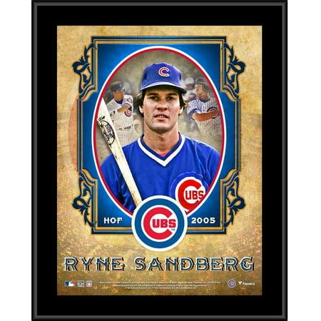 Ryne Sandberg Hall Of Fame (Ryne Sandberg Chicago Cubs 10.5