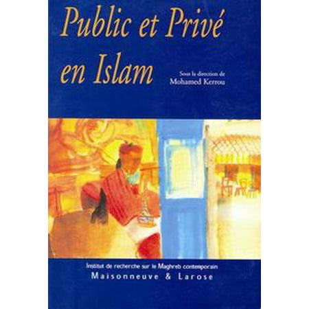 Public et privé en Islam - eBook for $<!---->