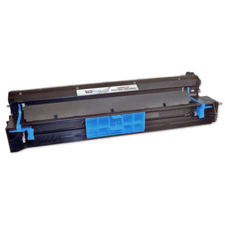 LD Remanufactured Laser Drum Unit Replacement for Okidata 42918103 Type C7 (Cyan)
