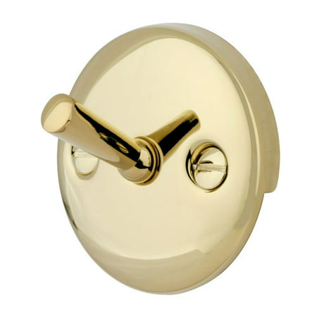 Hand Polished Chrome Trip Lever - Kingston Brass Made to Match Trip Lever 2 Hole Round Plate