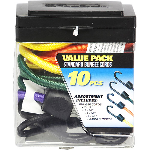 SmartStraps Standard Bungee Value Pack Assortment, 10 Pieces