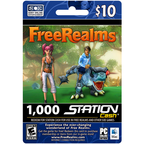 SOE $10 Free Realms eCard (Email Delivery)