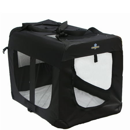 Confidence Pet Portable Folding Soft Sided Dog Crate Kennels Small