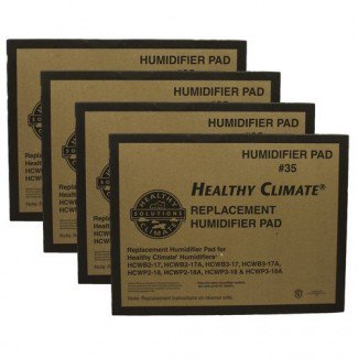 Lennox X2661 (4-Pack) - Healthy Climate Replacement Humidifier Water Panel (#35)