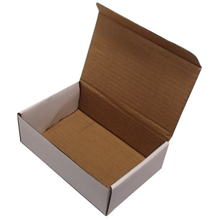 50 6x4x2 white corrugated shipping mailer packing box boxes