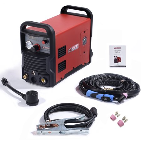 50 Amp Plasma Cutter Colossal Tech. 3/4 in. Clean Cut 110/230V Compatible DC Inverter Cutting Machine