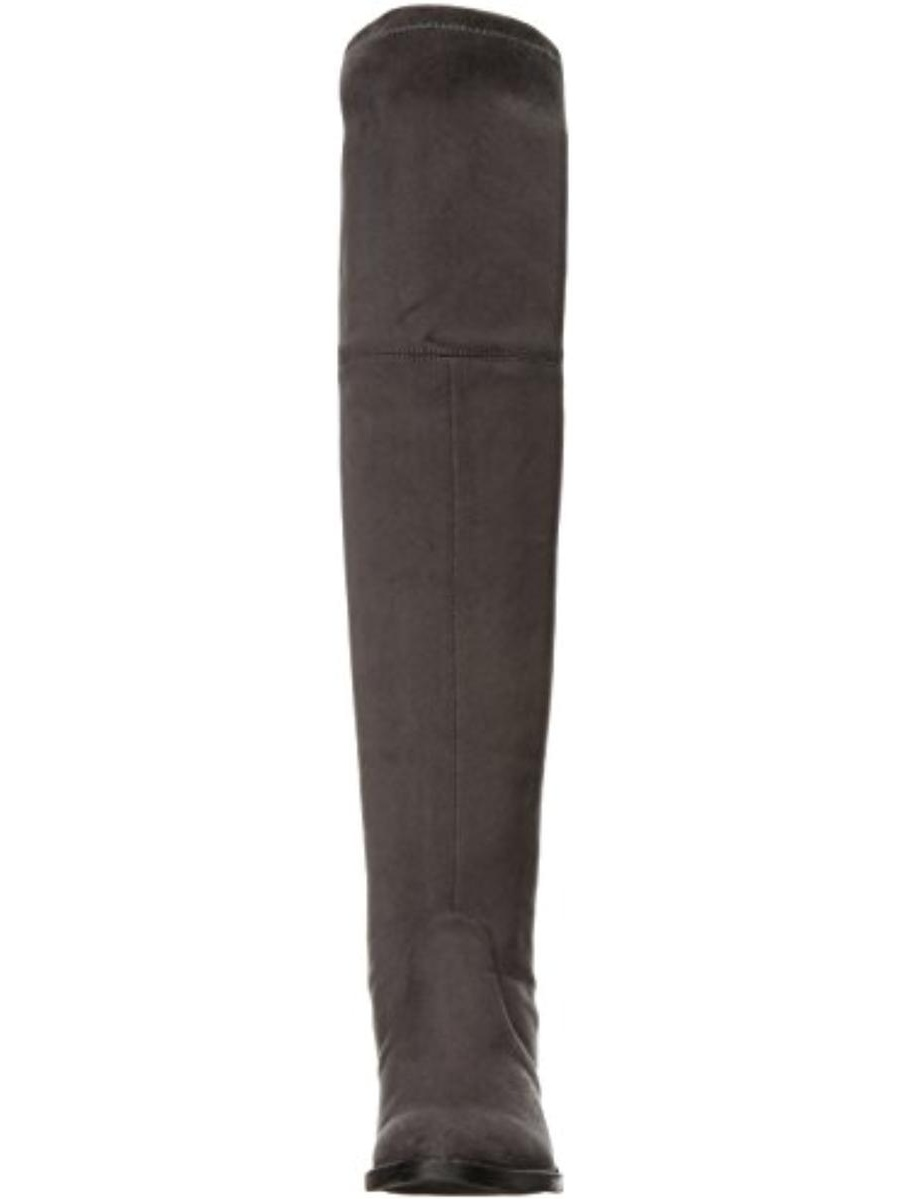 Zigi Soho Womens Karsten Faux Suede Round Toe Over-The-Knee Boots