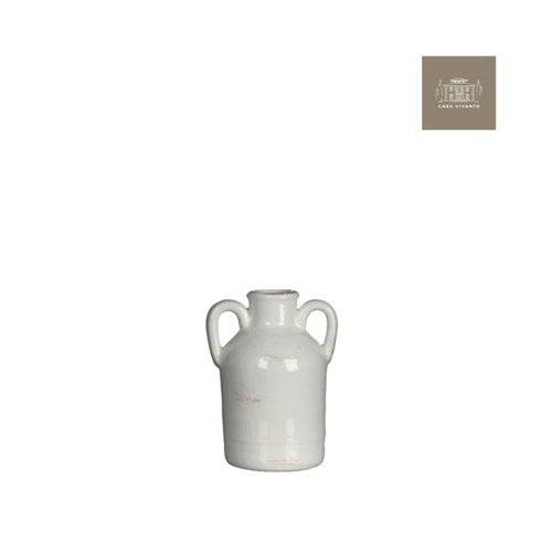 Modus Lifestyle's Sil Vase 3.5X3X5.5' White by