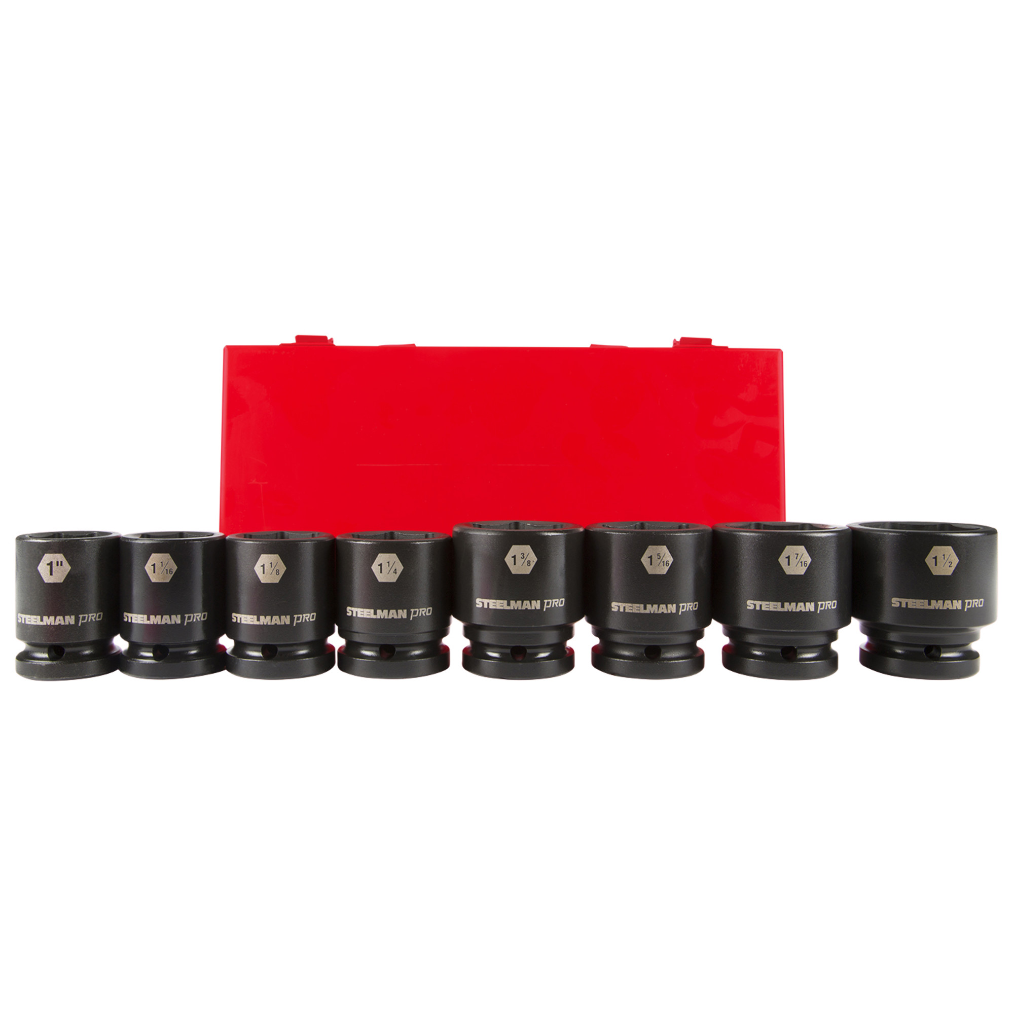 STEELMAN PRO 79318 3//4-Inch Drive x 46mm 6-Point Impact Socket