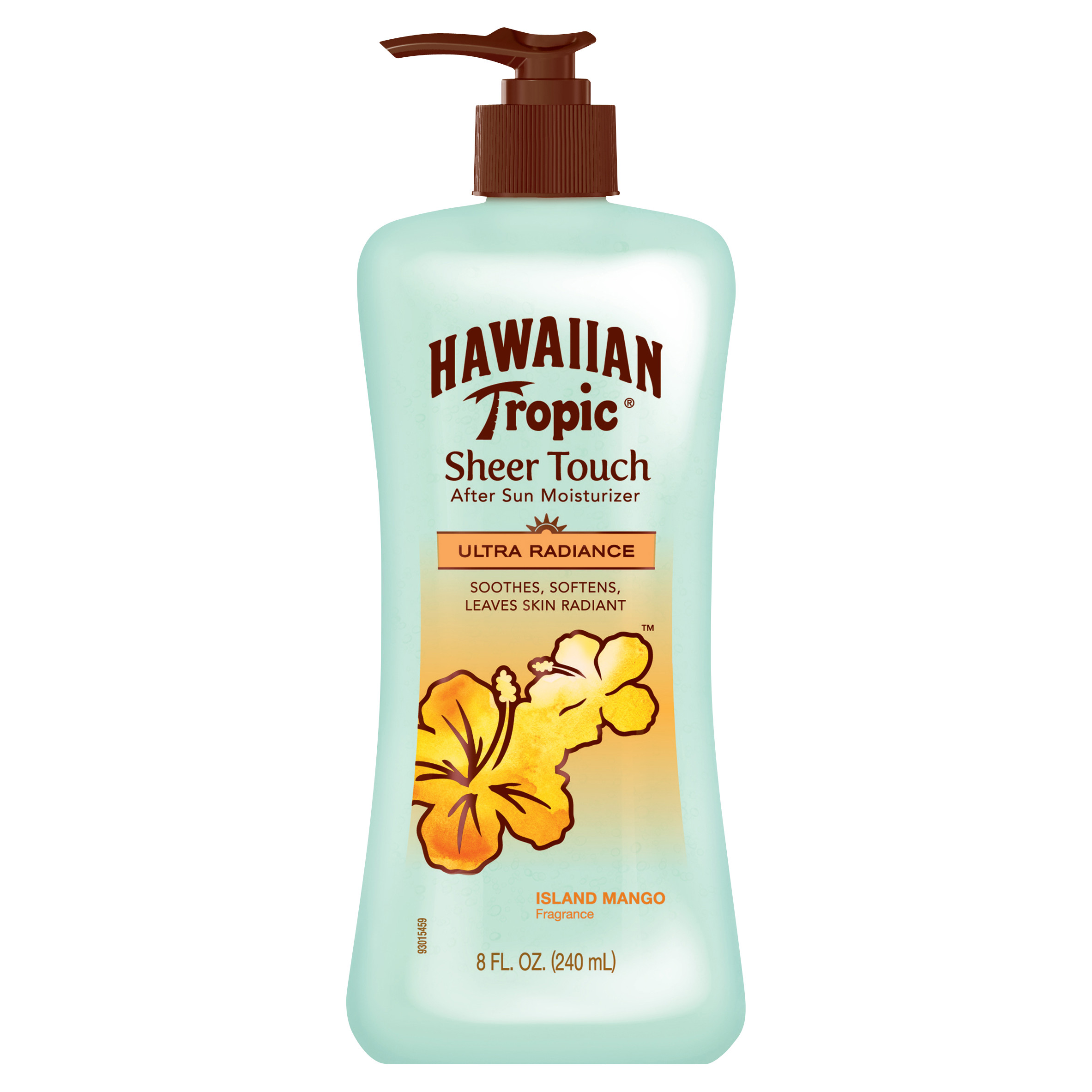 Hawaiian Tropic Sheer Touch Island Mango After Sun Moisturizer - 8 Ounces