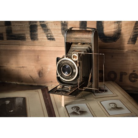 sale retailer bbfcc 21c7c LAMINATED POSTER Antique Vintage Retro Old Camera Photograph Album Poster  Print 24 x 36 - Walmart.com