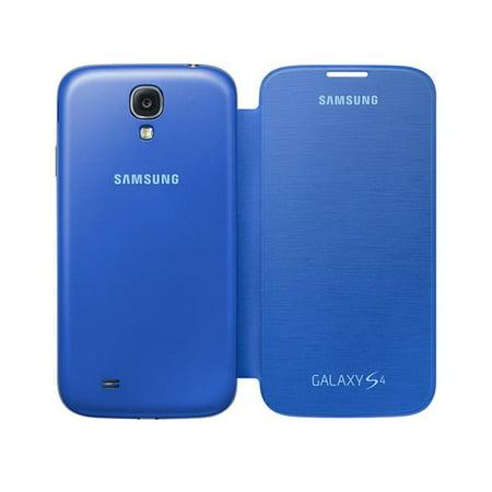 timeless design 9367b a2722 Samsung SA-EF-FI950BCEGWW Galaxy S4 Flip Cover, Light Blue