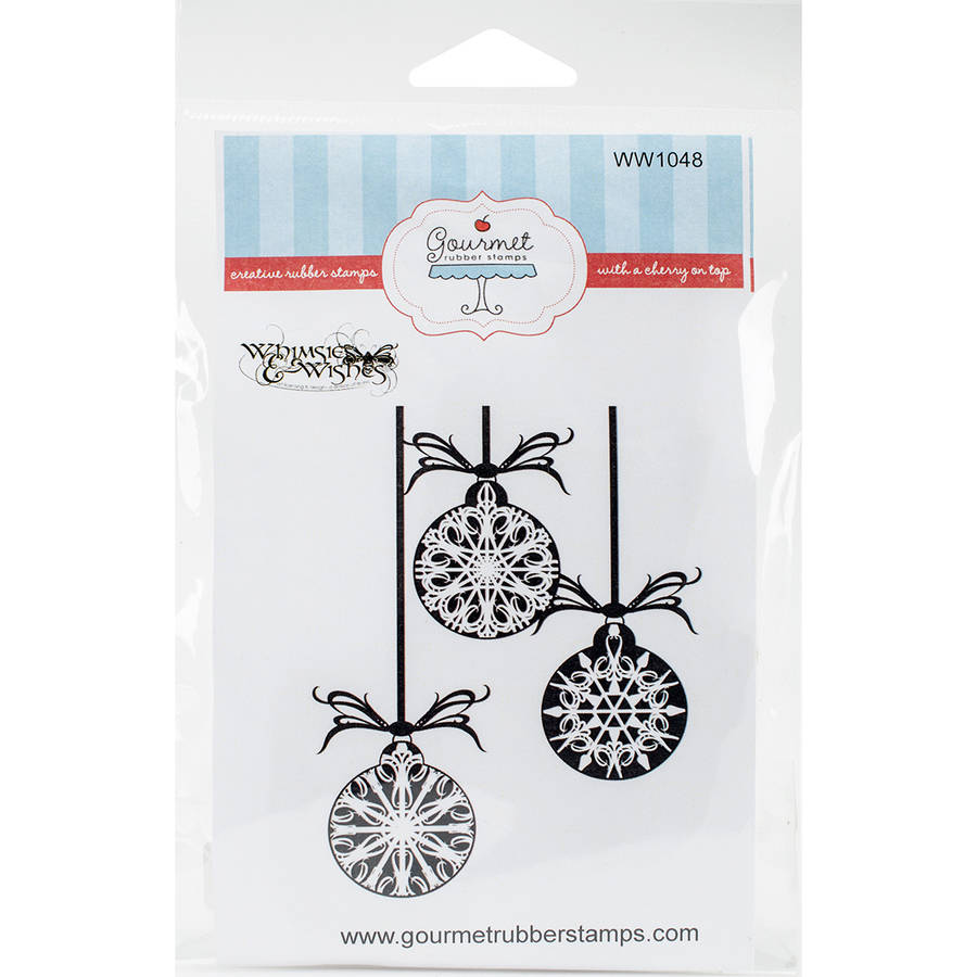"Gourmet Rubber Stamps, Cling Stamps, 4.25"" x 6.125"""
