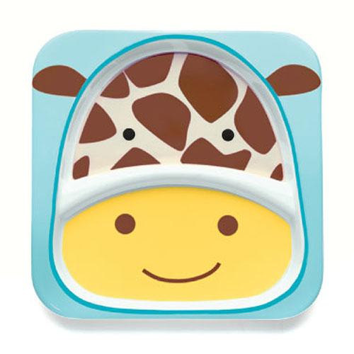 Skip Hop Zoo Divided Plate Giraffe by Skip Hop