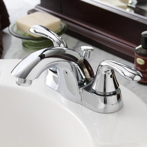 Premier Faucet Waterfront 2 Handle Bathroom Faucet with Optional Pop-Up Drain