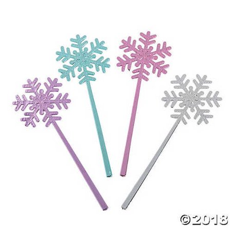 Snowflake Wand (Mini Snowflake Wands)