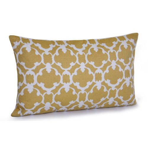 Jovi Home Cyprus Printed Cotton Lumbar Pillow
