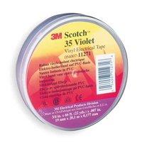 Scotch 35 3/4X66 VIOLT 3/4 x 66 ft Electrical Tape, 7 mil