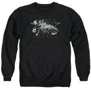 Batman Begins Night Natives Mens Crewneck Sweatshirt