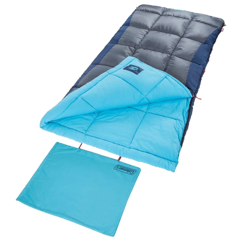 Coleman Heaton Peak 50 Rectangular Sleeping Bag by The Coleman Company, Inc