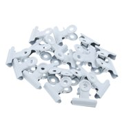 30 Pieces Bulldog Clips Metal Good Grip Clip for Document Picture Bag 22mm