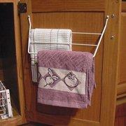 Rev-A-Shelf  White 3-rack Dish Towel Holder