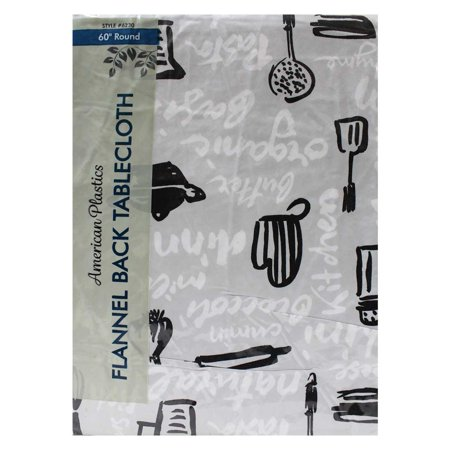 Tablecloth 60 Quot Multi Colored Bbq Style Round Walmart Com
