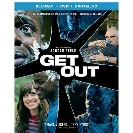 Get Out (Blu-ray + DVD + Digital HD) (Best Dvds Out Right Now)