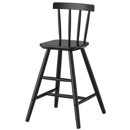 Ikea Junior chair, black 1626.171117.186