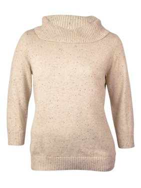 Product Image Charter Club Women s Cowl Neck Marled Sweater 47ee3c708