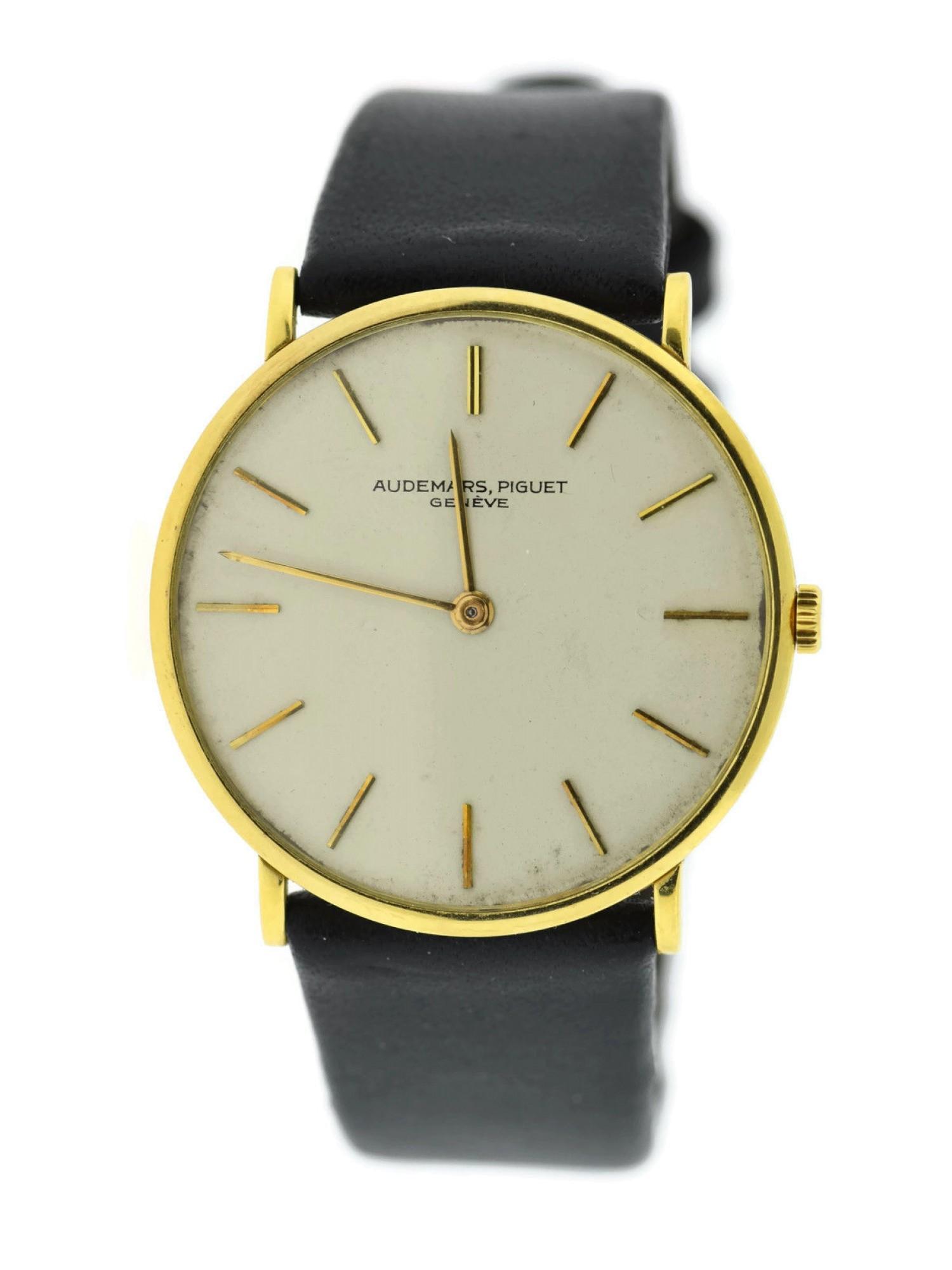 Audemars Piguet Mens 31.5mm Watch 371921167680-E Pre-Owned