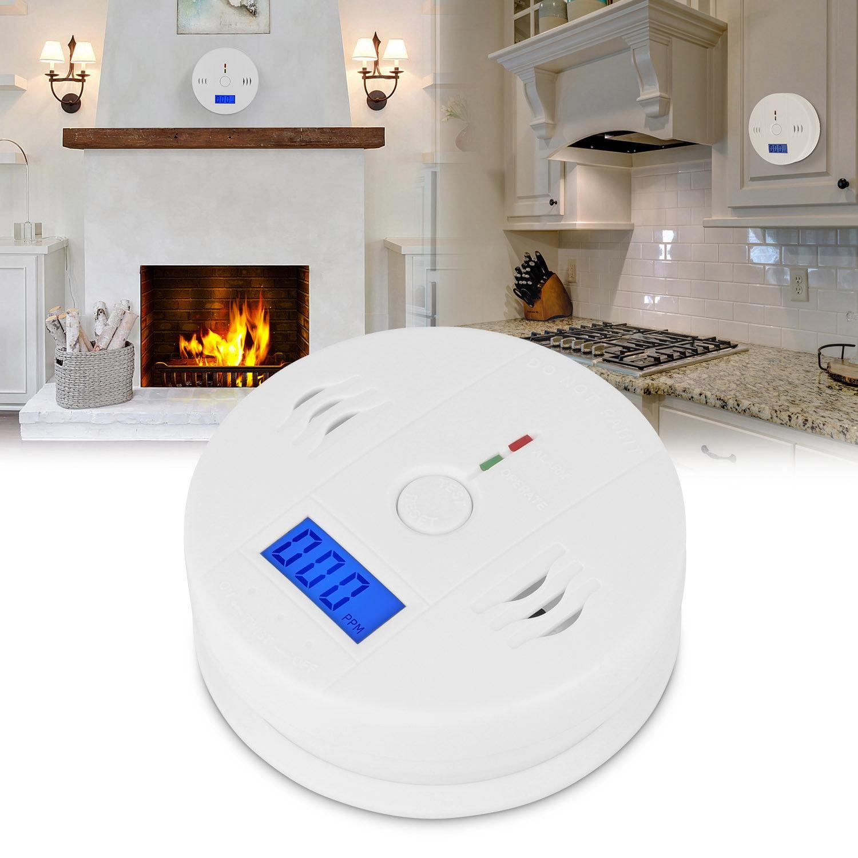 Yosoo Carbon Monoxide Alarm, Battery Carbon Monoxide Detector,1PC LCD Display CO Carbon Monoxide Detector Sensor Tester with Sound Light Alarm Warning Hot