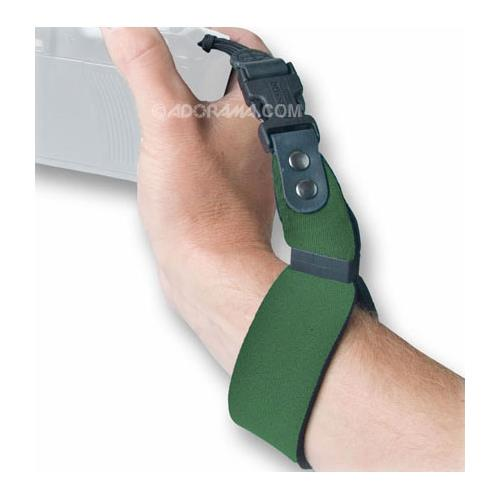 "Op/Tech SLR Wrist Strap, 11"" Long, Forest Green"