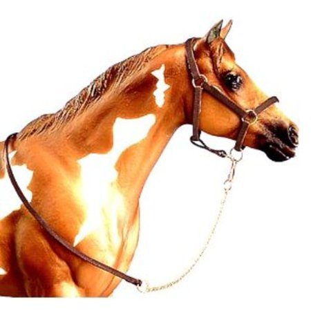 Breyer Traditional Halter with Lead Horse Toy Accessory (1:9 Scale) - Partrade Horse Lead