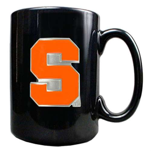 Syracuse Orange 15oz Black Ceramic Mug