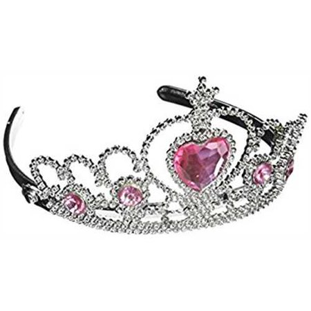 Tiara with Pink Heart Jewel