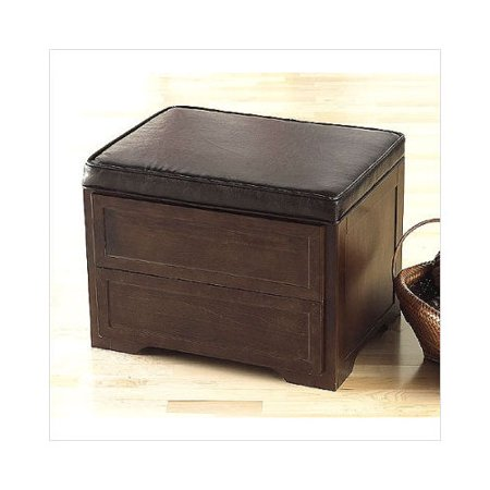 Southern Enterprises Roberts Coffee Table Storage Cube Ottoman