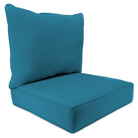 - 2 PC Deep Seat Chair Cushion