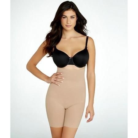 Femmes Body Shaper taille haute à jambes longues Butt Lift Culotte Petit amincissants Cincher